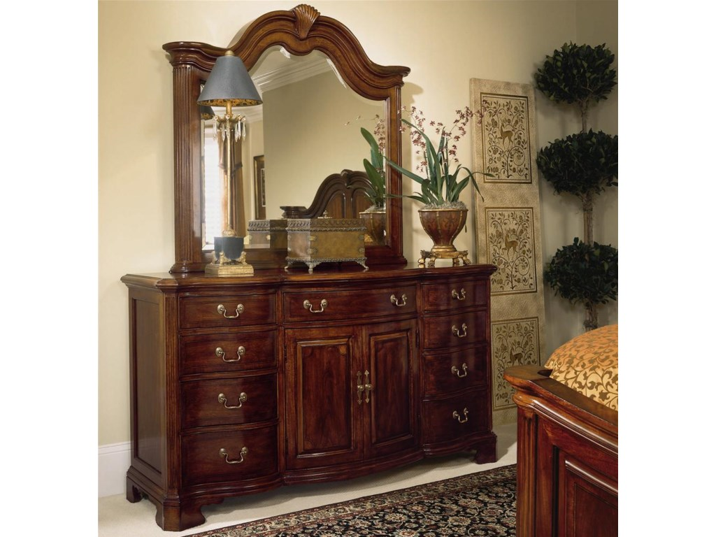 Shown with Triple Door Dresser