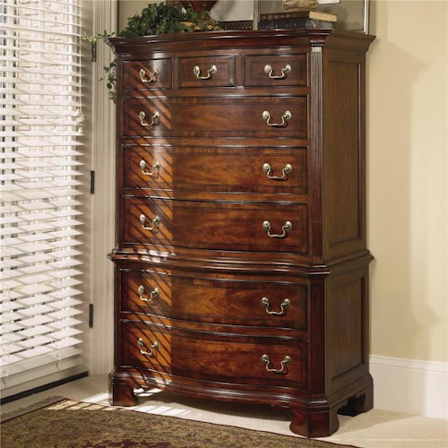 American Drew Cherry Grove 45th 8 Drawer Dresser Chest
