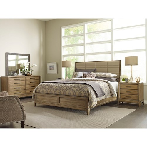 American Drew EVOKE  California King Bedroom Group