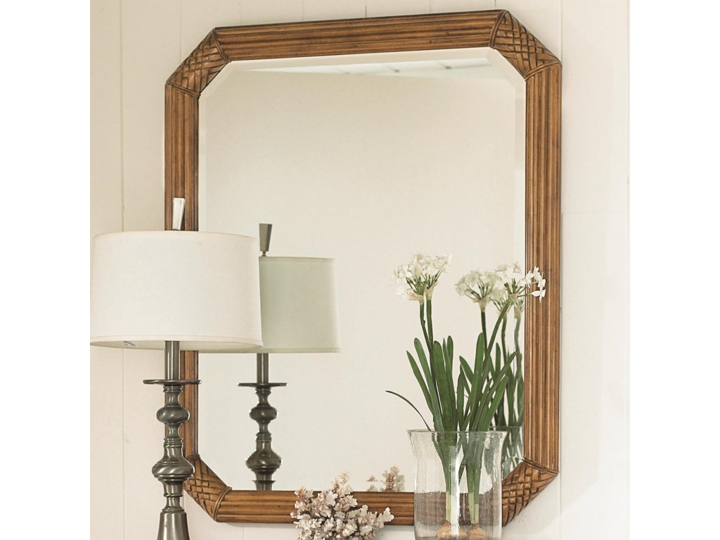 Mirror Can Be Hung Horizontally or Vertically