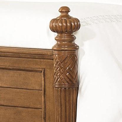 Turned & Carved Pillar