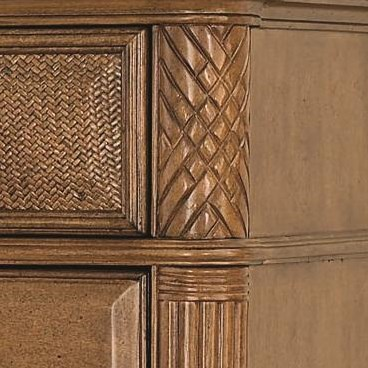 Carved & Fluted Details on Decorative Pilasters