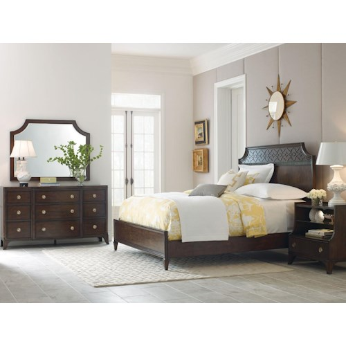 American Drew Grantham Hall Full/Queen Bedroom Group 1