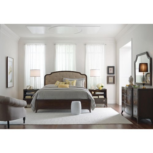 American Drew Grantham Hall Queen Bedroom Group 1