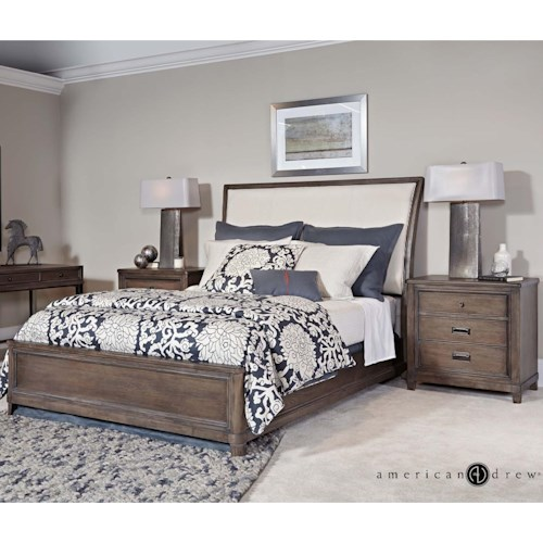 American Drew Park Studio Queen Bedroom Group