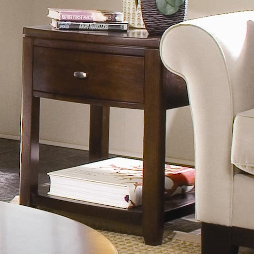 American Drew Tribecca 1 Drawer End Table