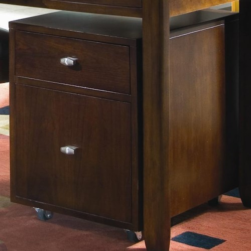American Drew Tribecca File Caddy with Caster Wheels