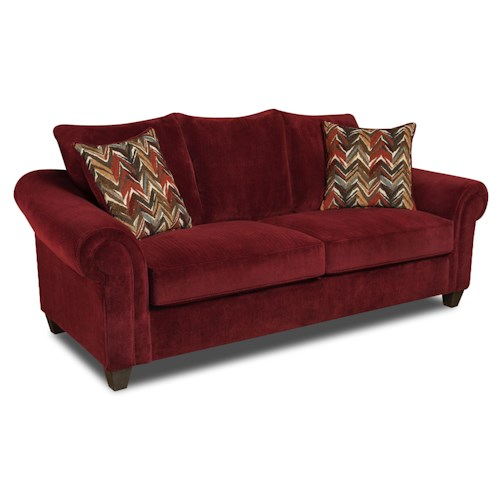 Vendor 610 2800 Sofa with Casual Style