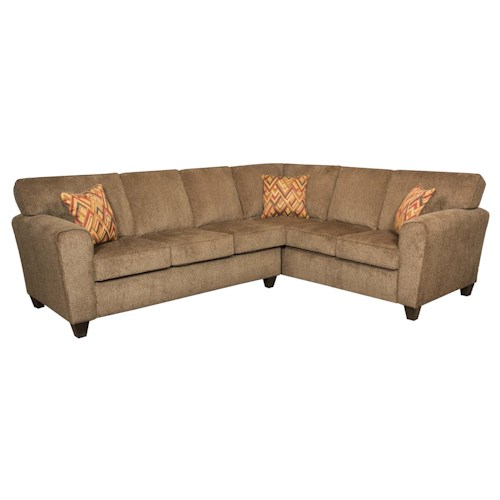 Vendor 610 3100 Sectional Sofa (Seats 5)