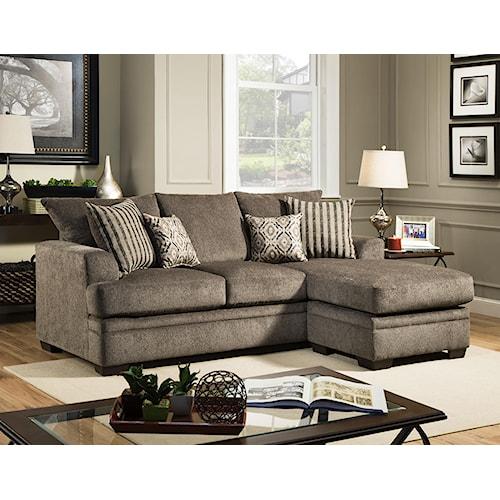 American Furniture 3650 Sofa Chaise