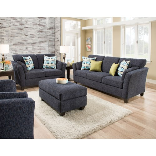 American Furniture 7300 Living Room Group