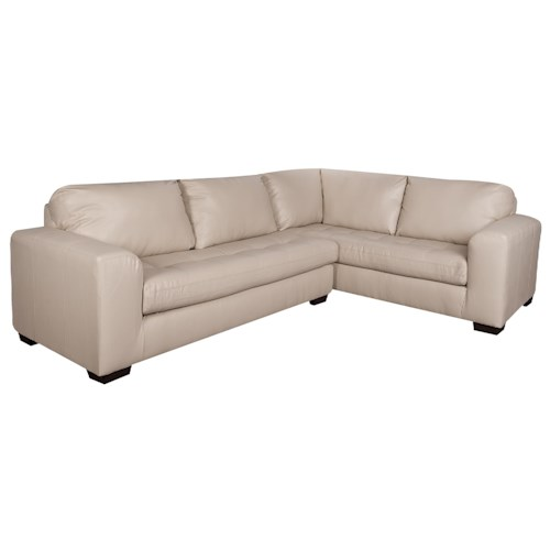 Morris Home Furnishings Arlo 2-Piece Sectional