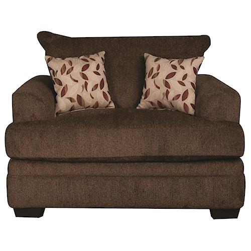 Morris Home Furnishings Eva Chair and a Half