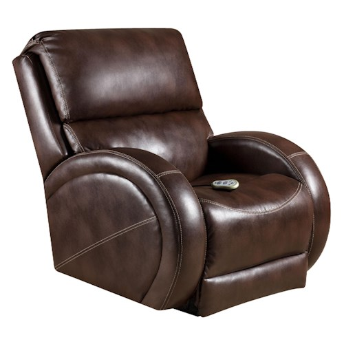 Vendor 610 Recliners  Rocker Recliner with Contemporary Style