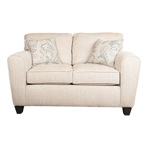 Morris Home Furnishings Rexanna Loveseat