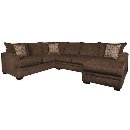 Morris Home Furnishings Walter 2-Piece Sectional