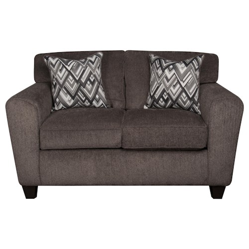 Morris Home Furnishings Wilson Loveseat