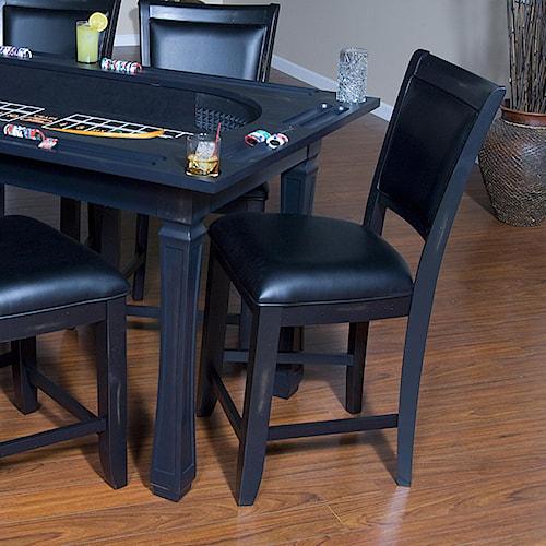 American Heritage Billiards Burlington Westwood Game Chair