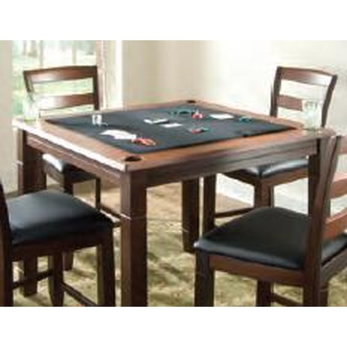 American Heritage Billiards Melrose 2-in-1 Square Pub/Poker Table
