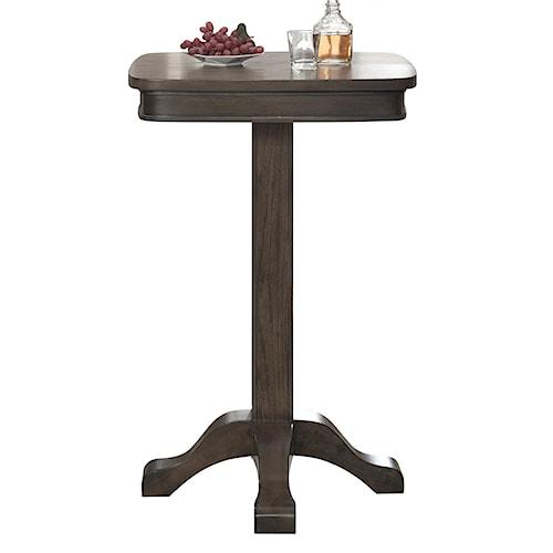 American Heritage Billiards Quest Sarsetta Square Pub Table with Pedestal Base