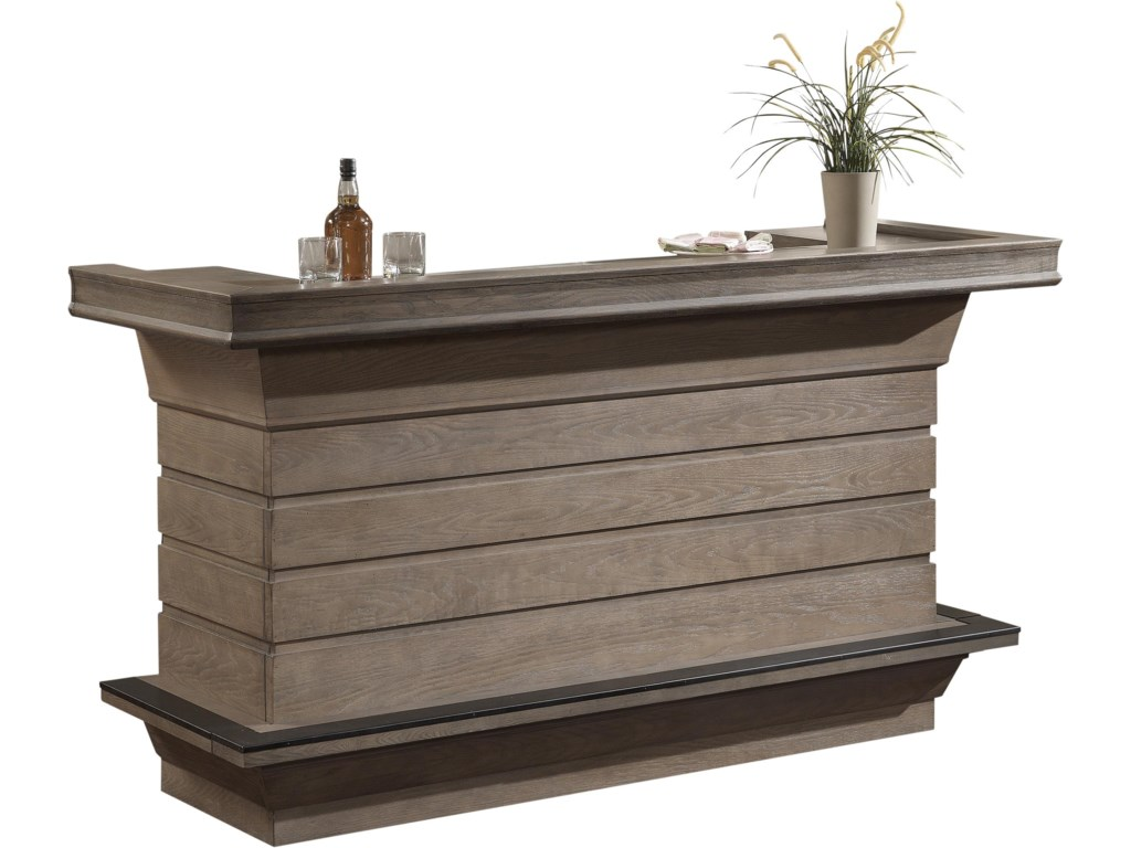 Front Side of Bar