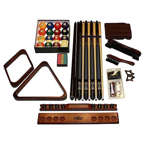 American Heritage Billiards Tacoma Designer Accessory Kit