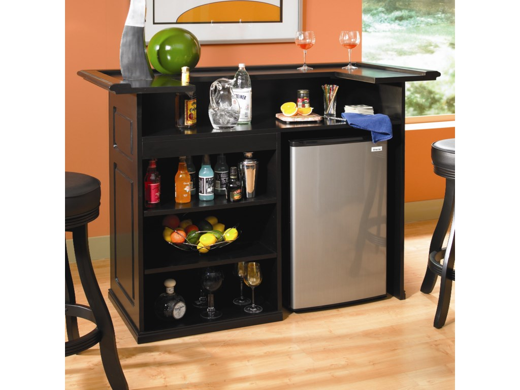 Shown with Mini-Fridge, Not Included