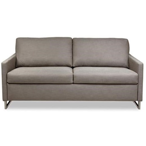 American Leather Breckin Queen Sleeper Sofa with Track Arms