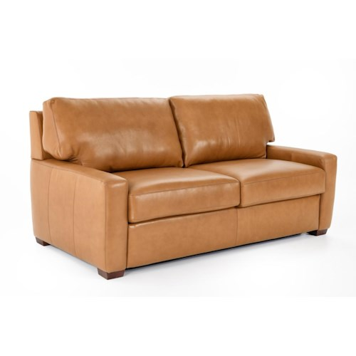 American Leather Comfort Sleeper - Cassidy Track Arm Queen Sofa Sleeper