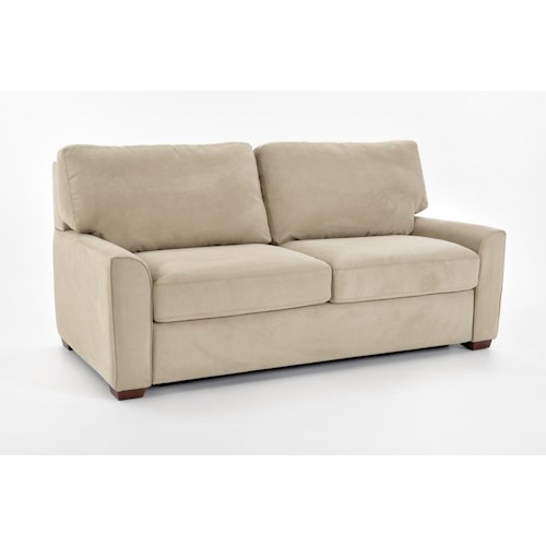 American Leather Comfort Sleeper - Kalyn Queen Sleeper Sofa with Flared Arms