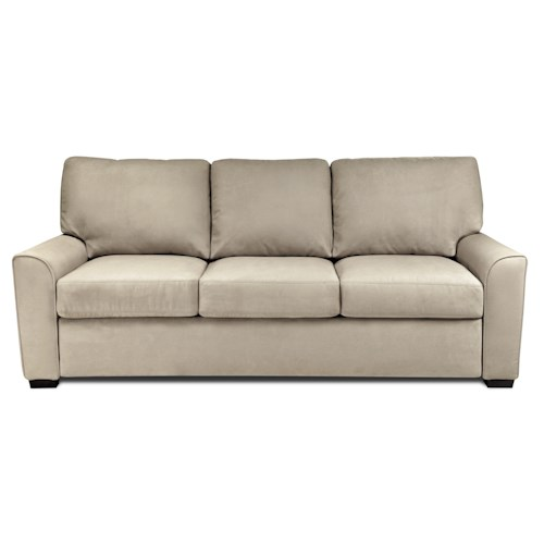 American Leather Comfort Sleeper - Kalyn King Sleeper Sofa with Flared Arms