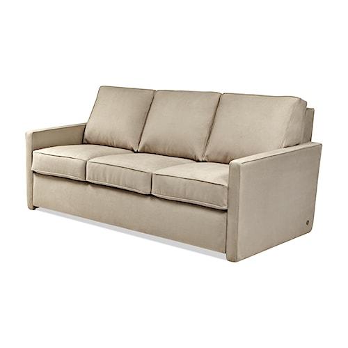 American Leather Comfort Sleeper - Kingsley Track Arm Queen Plus Sofa Sleeper