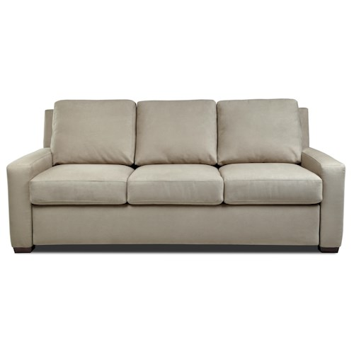 American Leather Comfort Sleeper - Lyndon Track Arm Queen Plus Sofa Sleeper
