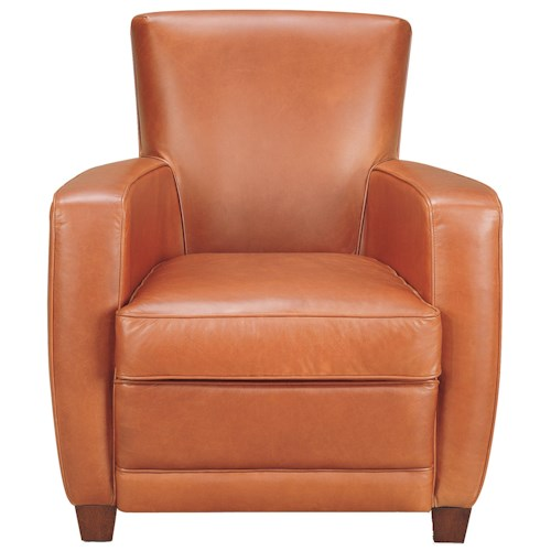 American Leather Ethan  Contemporary Accent Chair