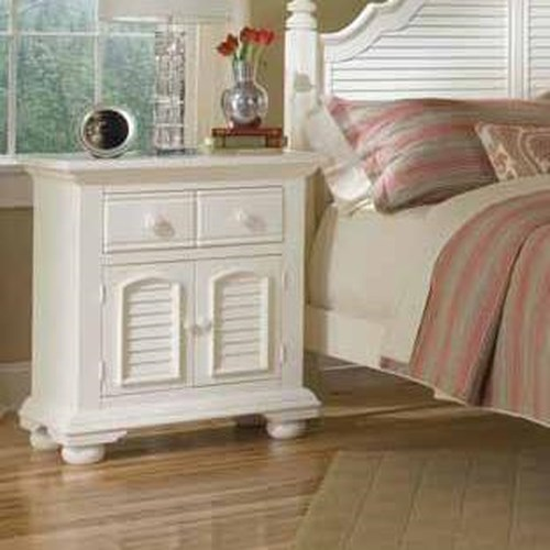 American Woodcrafters Cottage Traditions Large Night Stand