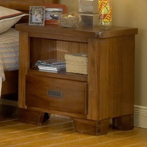 American Woodcrafters Heartland  Night Stand w/ 1 Drawer