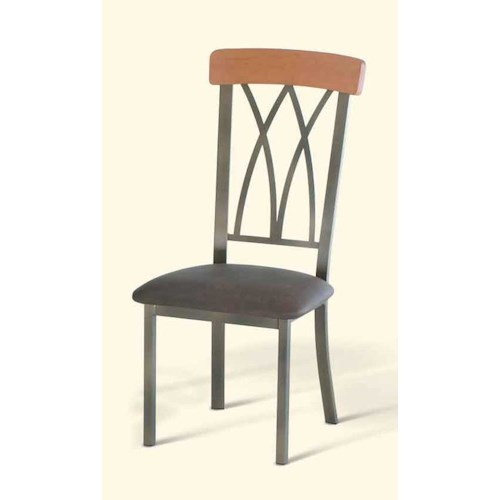 Amisco Transitions Brittany Dining Side Chair