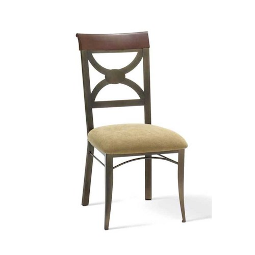 Amisco Transitions Olivia Dining Side Chair