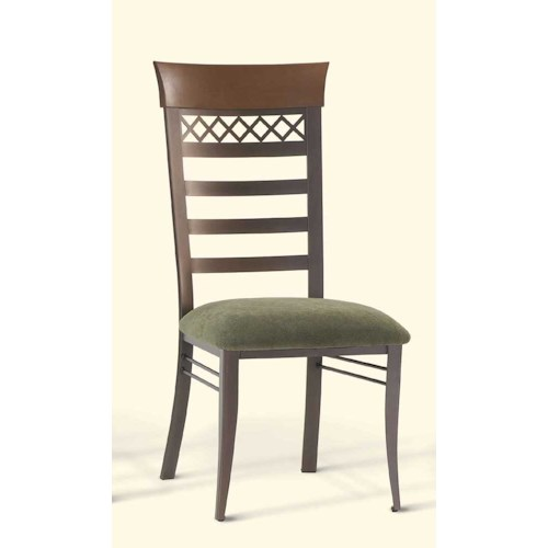 Amisco Transitions Brent Dining Side Chair