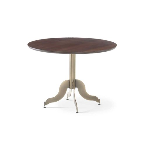 Amisco Transitions Tina Table Base and Maple Veneer Tabletop