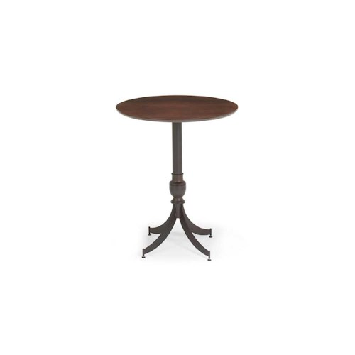 Amisco Transitions Penelope Pub Table Base and Maple Veneer Tabletop