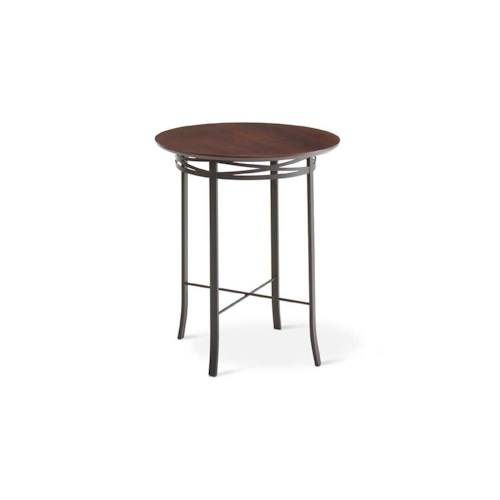 Amisco Transitions Carly Pub Table Base and Maple Veneer Tabletop