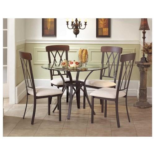 Amisco Transitions Brittany Dining Set