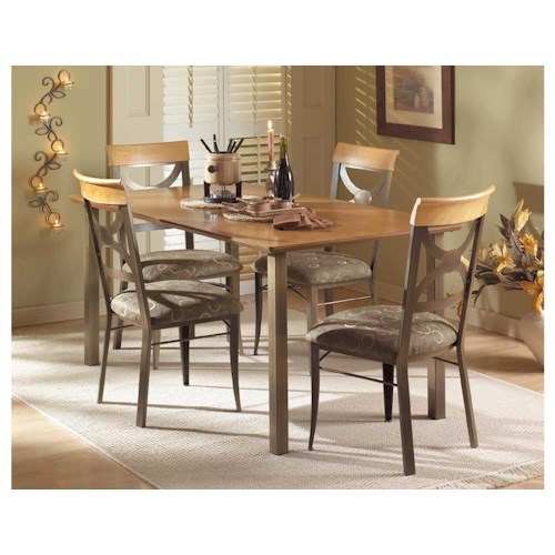 Amisco Transitions Olivia Dining Set