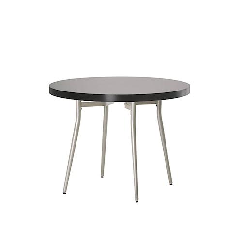 Amisco Anais Contemporary Round Kitchen Table