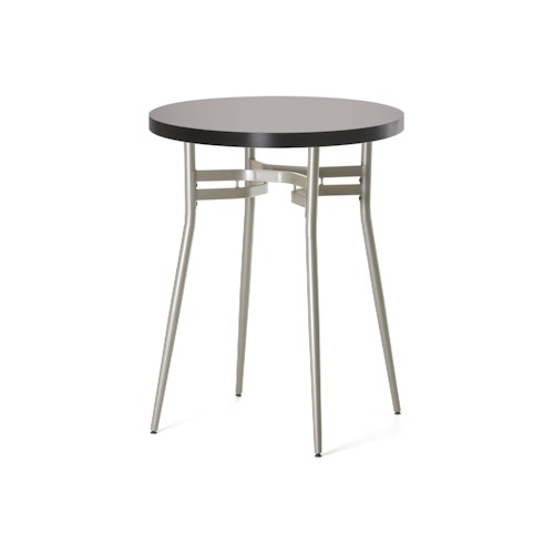 Amisco Anais Contemporary Round Bar Height Table