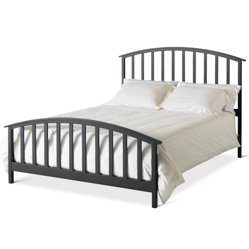 Amisco Countryside King Francesca with Metal Headboard and Footboard