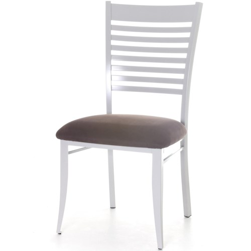 Amisco Edwin Dining Side Chair with Ladder Back