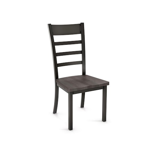 Amisco Owen Ladderback Side Chair