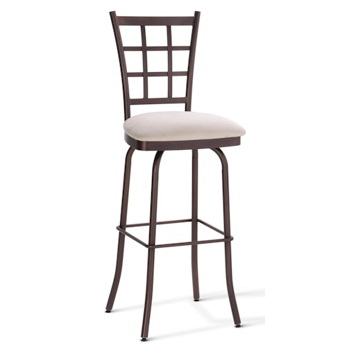 Amisco Stools Jamie Swivel Stool